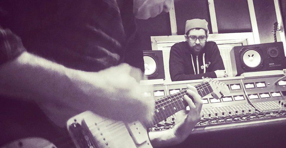 Mark Guiliana en studio avec Matt Cameron