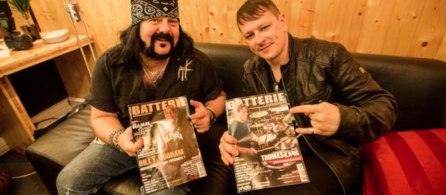 Ray Luzier et Vinnie Paul réunis pour Batterie Mag!