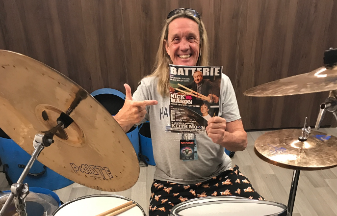 Gagnez une cymbale Paiste signée par Nicko McBrain !