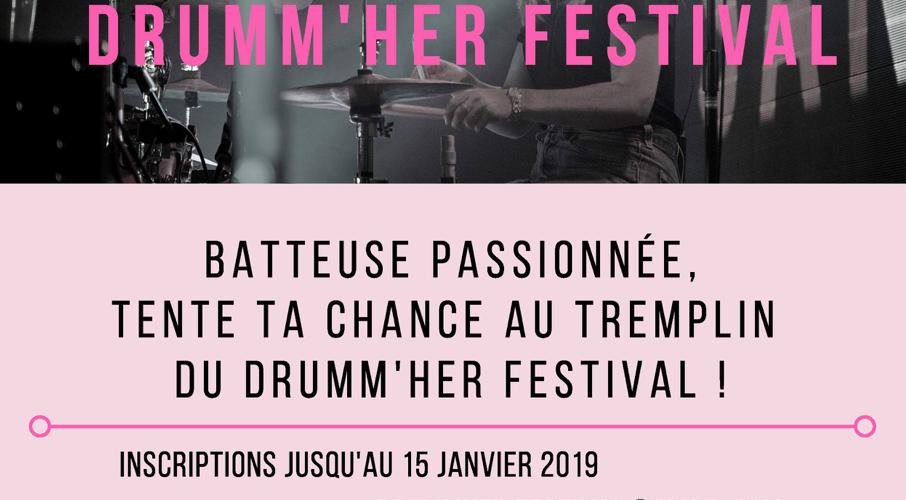 DRUMM'HER FESTIVAL: TREMPLIN 2019