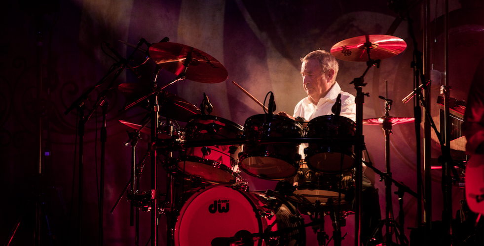Le Prince William reçoit NICK MASON