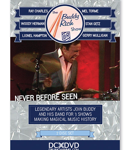THE BUDDY RICH SHOW : Never Before Seen Footage