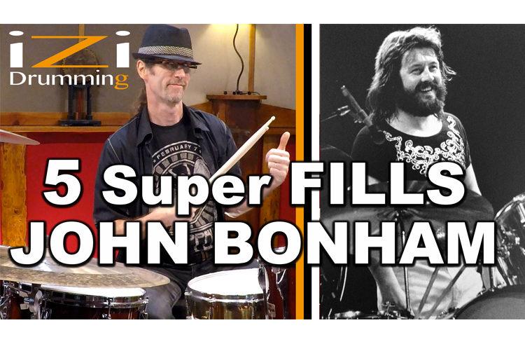JOUEZ COMME JOHN BONHAM