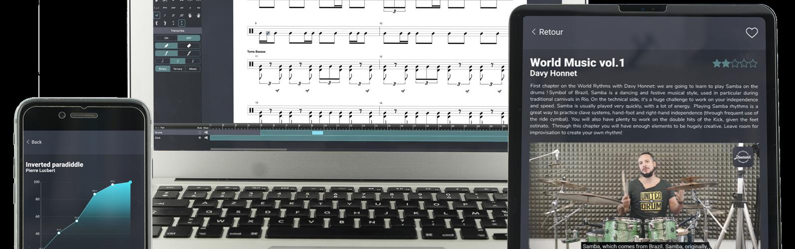 Drumstik lance son Kickstarter